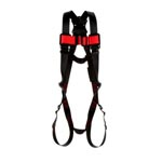 3M Protecta Vest-Style Harness With D-Ring, Past-Thru Leg Straps
