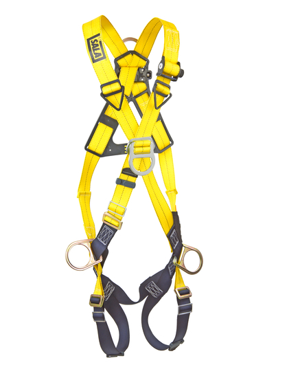 DBI Delta Cross-Over Style Positioning/Climbing Harness 4D Rings