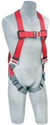 Protecta Pro Vest Style Full Body Harness with Single D Ring & Pass-thru buckle leg straps