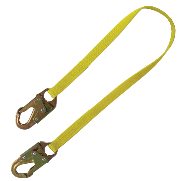 Rigger Safety 3\' Fixed Non-Shock Lanyard