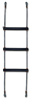 "3/16"" 7X19 Black Powdered Coated Galvanized Wire Rope Ladder"