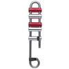 PETZL RACK VARIABLE FRICTINDESCENDER WITH BRAKE BARS