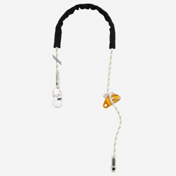 Petzl, Grillon Hook, Adjustable Work Positioning Lanyard with Hook Connector - 2M