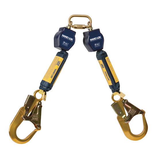 DBI Sala Nano-Lok 6\' Twin-Leg Self Retracting Lifeline-Web