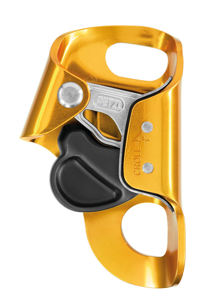 Petzl Croll-S Compact Chest Ascender For 8-11MM Rope