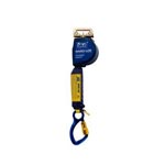DBI Sala Nano-Lok Extended Quick Length Quick Connect Self Retracting Lifeline, 11ft