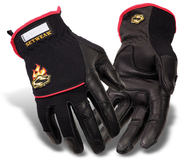 Hot Hands Setwear Gloves Black/Red - SHH-05-007 thru 012